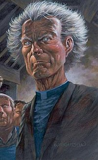 Father Callahan from Wolves of the Calla. Art by Bernie Wrightson.