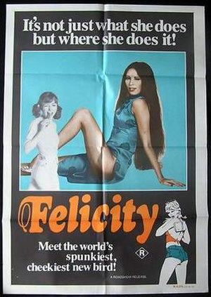 Felicity (film) - Theatrical film poster