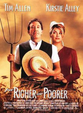 For Richer or Poorer - Theatrical release poster
