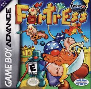 Fortress (2001 video game) - Image: Fortress cover