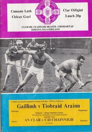 1978–79 National Hurling League - Image: GAA 1979 National Hurling League Final Galway Tipperary