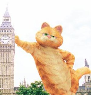 Garfield (character) - The computer animated version of Garfield, as seen in Garfield: A Tail of Two Kitties.