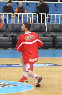 Ioannis Chatzinikolas Greek basketball player