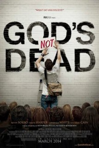 God's Not Dead (film) - Theatrical release poster