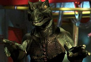 "Gorn - Slar, a Gorn from the Enterprise episode ""In a Mirror, Darkly Part II"""