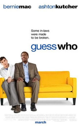 Guess Who (film) - Theatrical release poster