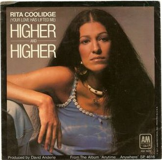 (Your Love Keeps Lifting Me) Higher and Higher - Image: Higher and Higher Rita Coolidge
