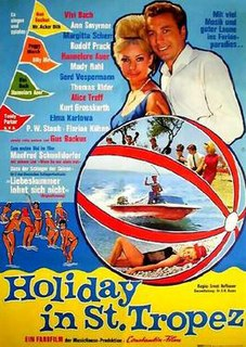 <i>Holiday in St. Tropez</i> 1964 film by Ernst Hofbauer
