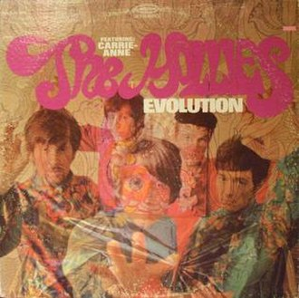Evolution (The Hollies album) - Image: Hollies Evolution US Cover
