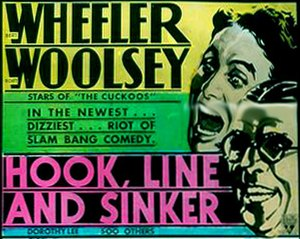 Hook, Line and Sinker (1930 film) - Poster for the film