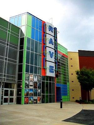 Rave Cinemas - Image: Huntsville Rave