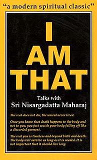 <i>I Am That</i> book by Nisargadatta Maharaj
