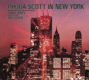 Thad Jones/Mel Lewis Orchestra with Rhoda Scott - Image: In New York With Rhoda Scott Thad Jones Mel Lewis