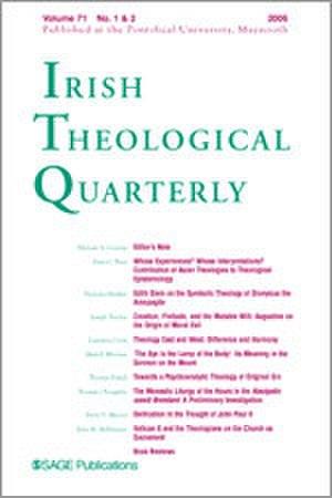 Irish Theological Quarterly - Image: Irish Theological Quarterly