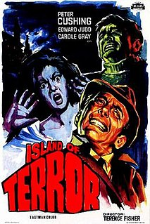 <i>Island of Terror</i> 1966 film by Terence Fisher