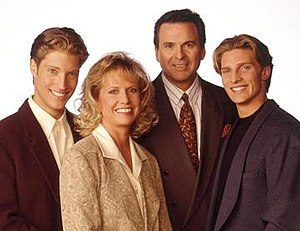 Quartermaine family - Sean Kanan, as A.J.; Leslie Charleson, as Monica; Stuart Damon, as Alan; Steve Burton, as Jason.