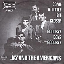 Jay and the Americans Come a Little Bit Closer Single.jpg