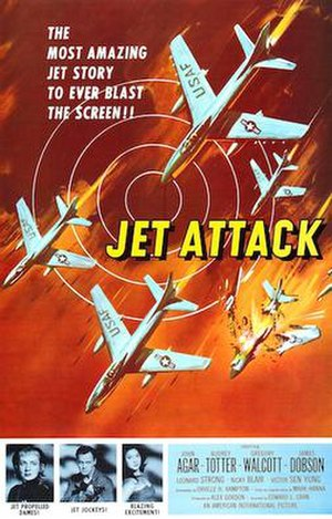 Jet Attack - Theatrical poster