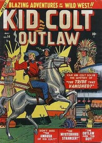 Pete Tumlinson - Image: Kid Colt Outlaw 14