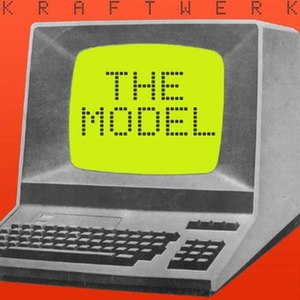 Das Model - Image: Kraftwerk The Model single cover