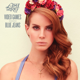 Video Games (song) - Image: Lana Del Rey Video Games single cover