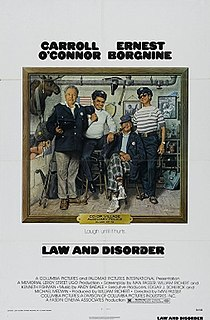 <i>Law and Disorder</i> (1974 film) 1974 film by Ivan Passer