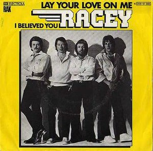 Lay Your Love on Me - Image: Lay Your Love on Me