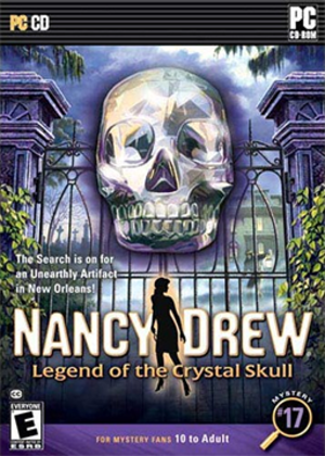 Nancy Drew: Legend of the Crystal Skull - Image: Legend of the Crystal Skull Coverart