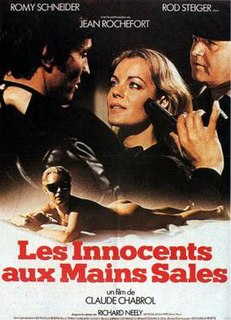 <i>Innocents with Dirty Hands</i> 1975 French film directed by Claude Chabrol