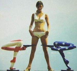 Li Tobler - Li Tobler with Voice of America figures (1968)
