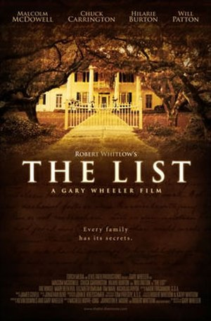 The List (2007 film) - Theatrical poster