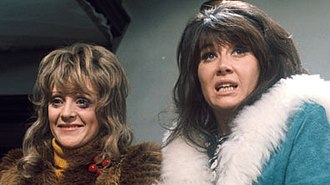 The Liver Birds - Polly James (left) and Nerys Hughes