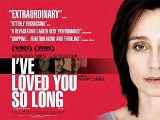 I've Loved You So Long - Film poster