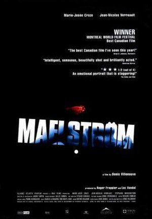 Maelström (film) - Theatrical release poster