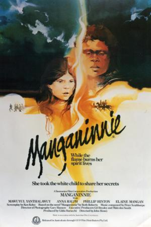 Manganinnie - Promotional movie poster for the film