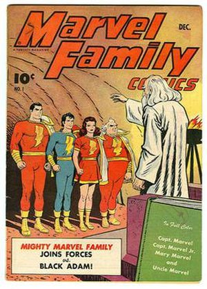 Marvel Family - Image: Marvel Family 1 1945