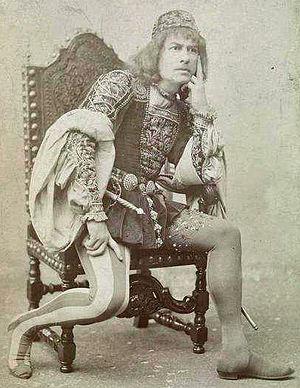 Falstaff (opera) - Victor Maurel as Iago in Boito and Verdi's Otello