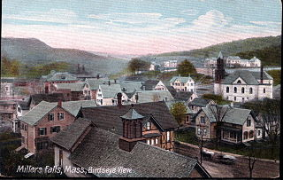 Millers Falls, Massachusetts Census-designated place in Massachusetts, United States