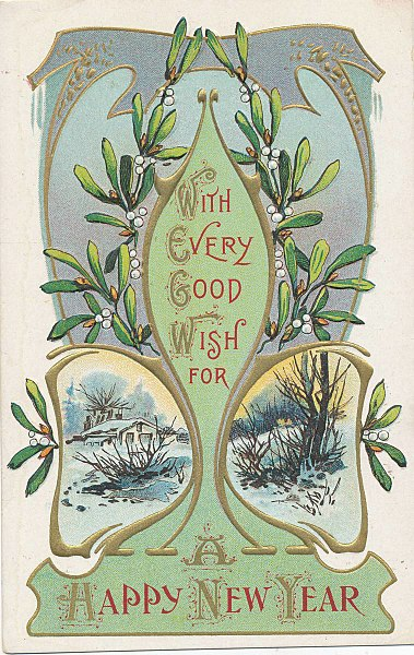 Vintage Greeting Card, Vintage Art Work