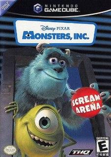 <i>Monsters, Inc. Scream Arena</i> 2002 video game