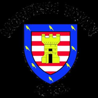 Morpeth Town A.F.C. - Image: Morpeth Town F.C. logo
