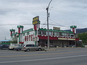 Cache Creek, British Columbia - Medieval Pastiche, accommodation options on the Trans Canada Highway.