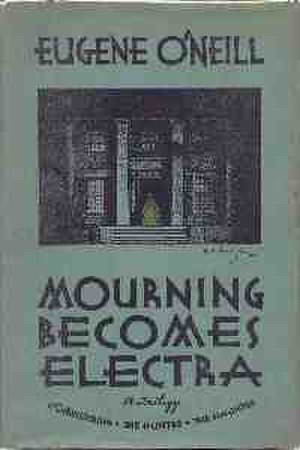 Mourning Becomes Electra - 1931 Liveright first edition cover