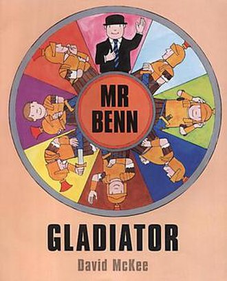 Mr Benn - Gladiator, the final book in the original Mr Benn series