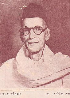 Narayan Hari Apte Marathi popular novelist & writer of advice books and editor from Maharashtra, India