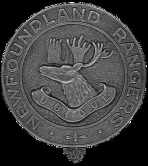 Newfoundland Ranger Force - Image: Newfoundland Rangers badge
