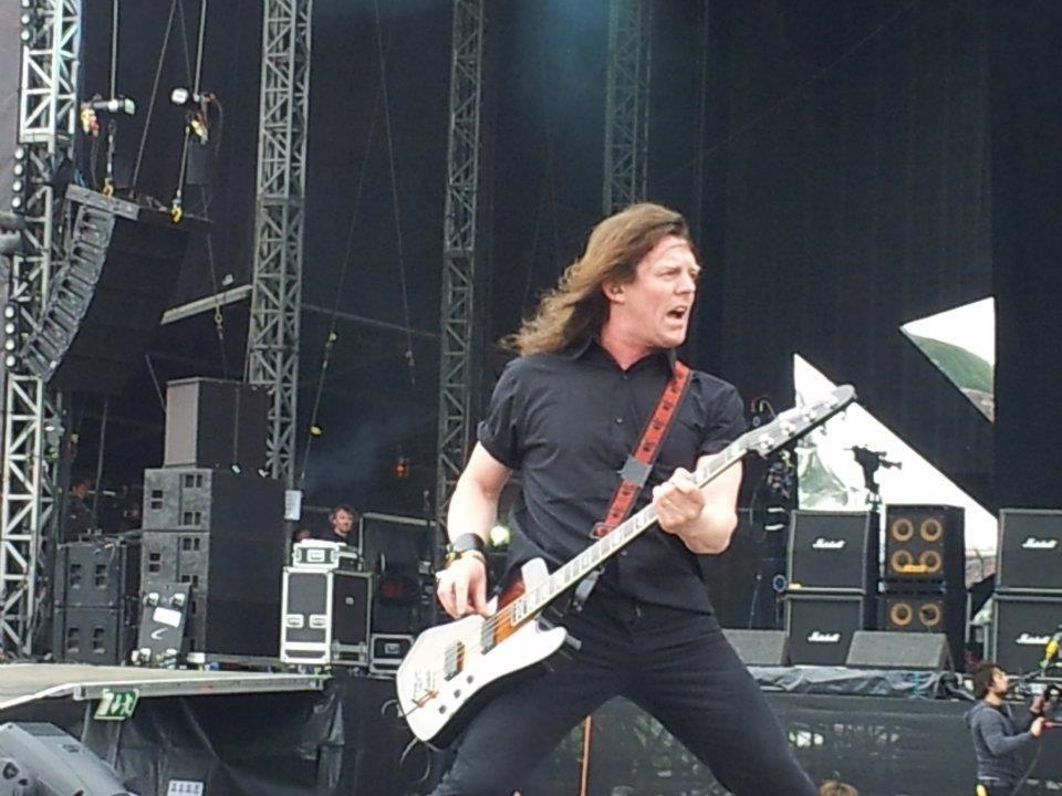 Nibbs Carter performing at Download 2012