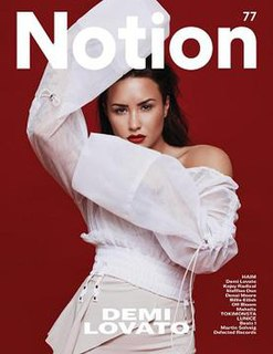 <i>Notion</i> (magazine) music magazine and fashion magazine published in the United Kingdom
