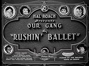 Our Gang - Image: Our gang title card