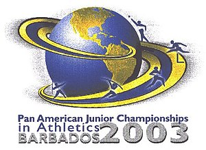2003 Pan American Junior Athletics Championships - Image: Pan Am junior logo 2003